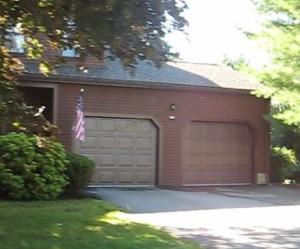 Hawthorne Village Condos Franklin MA - 2 car garages