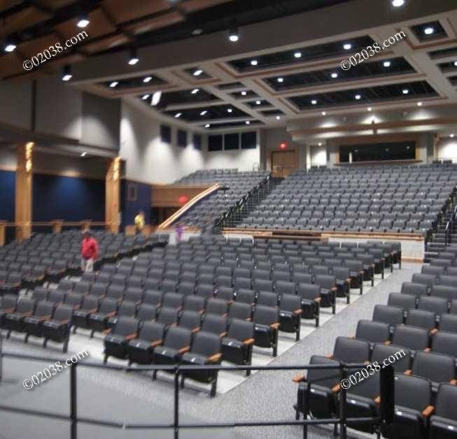 Stellar New Auditorium At Franklin High Franklin Ma