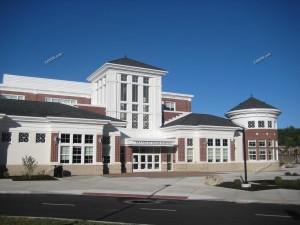 Exterior Franklin High School Franklin MA 3