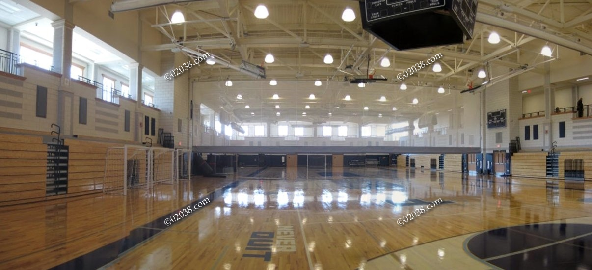 Franklin High School Gym Is Breathtaking Franklin Ma